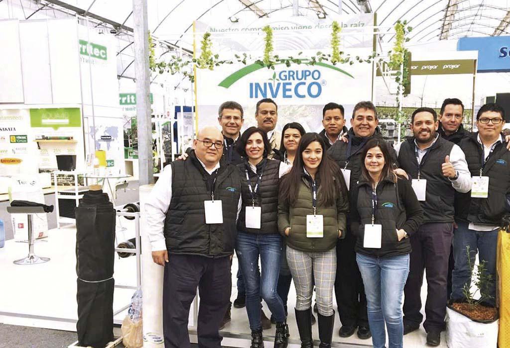 Inveco team, the distributor of Projar in Mexico