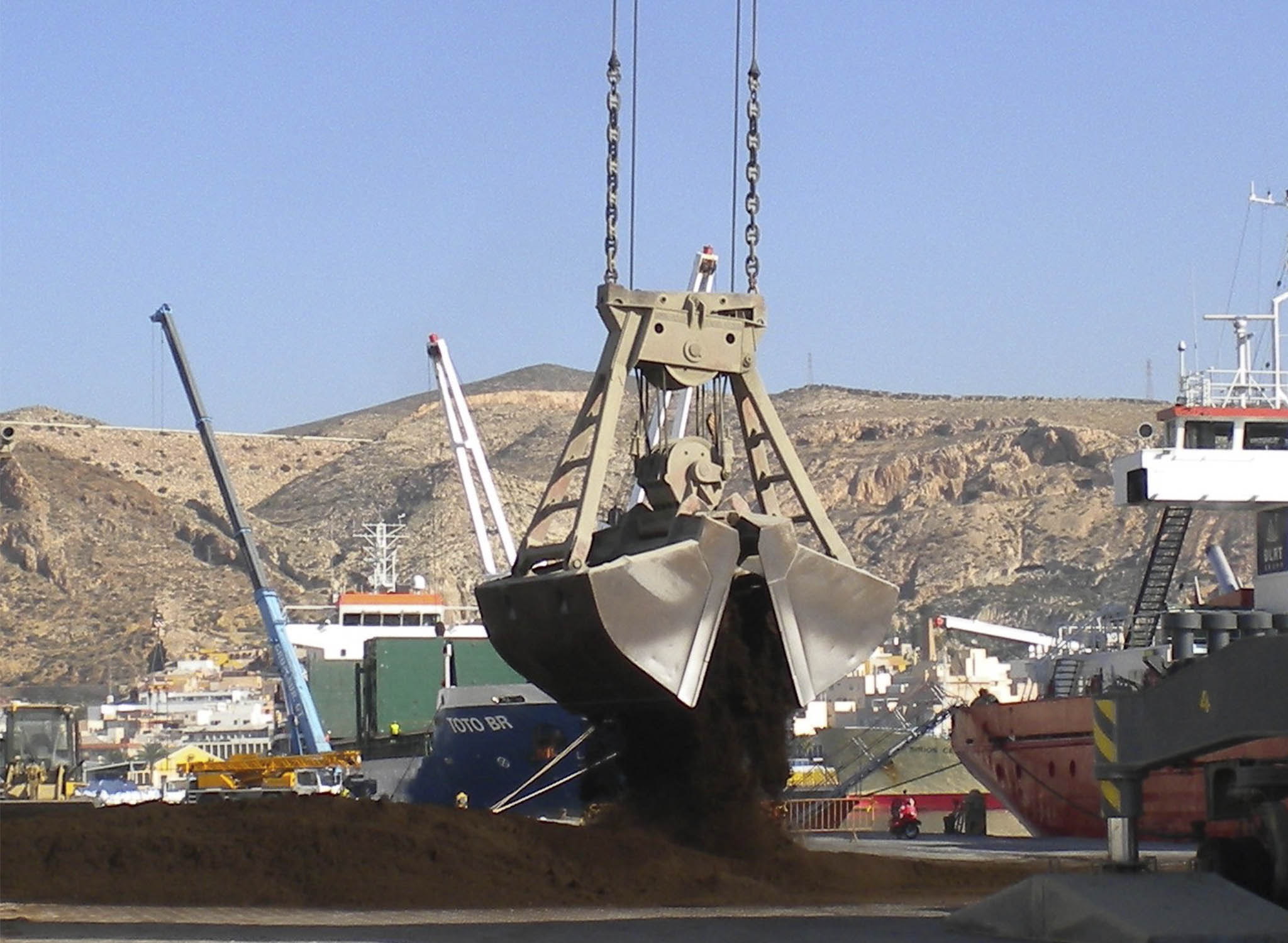 RAW MATERIAL ARRIVING