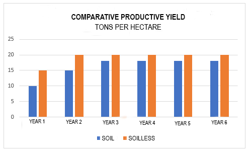 soilless production